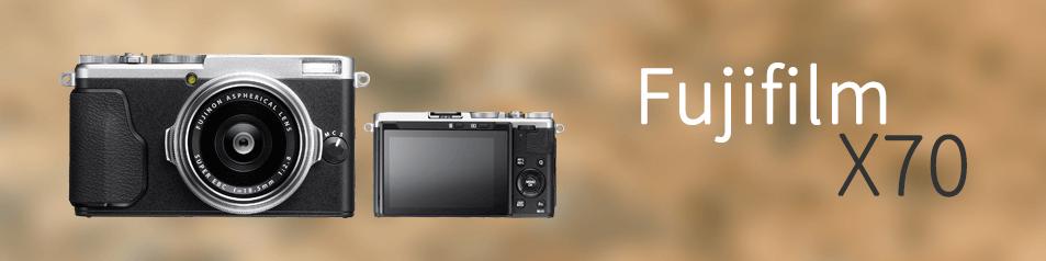 Cámara Fujifilm X70