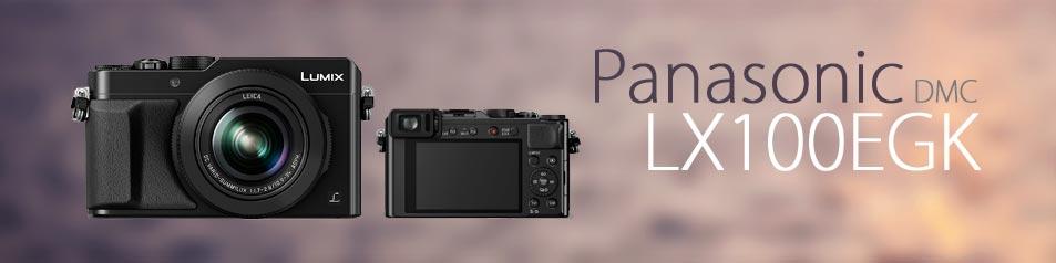Camara Panasonic DMC-LX100EGK