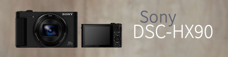 Cámara Sony DSC-HX90