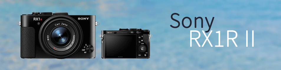 Cámara Sony RX1R II