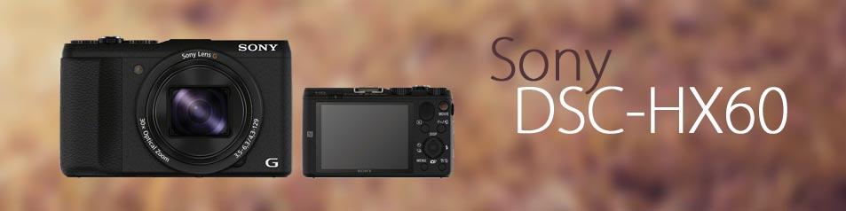 Camara Sony DSC-HX60