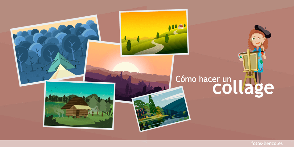 C mo hacer un collage de fotos online gratis de forma f cil - Collage de fotos para pared ...