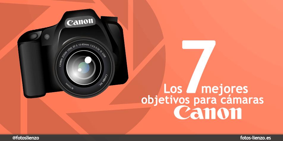 Mejores objetivos Canon